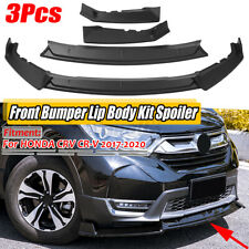 For HONDA CRV CR-V 2017-2020 Front Bumper Chin Protector Guard Lips Body Spoiler