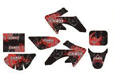Aufkleber, Dekor Schwarz-Rot für CNKO-70,AGB-21 und XB-39 Dirt Bike, Pit Bike