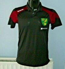 Norwich City 2014 2015 football training polo style shirt adult men's S Small