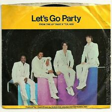 1976 TKP 45 Record: KC & SUNSHINE BAND: It's The Same Old Song / Let's Go Party