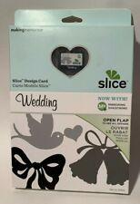 New listing Making Memories Slice Card Cartridge Wedding Die Cut Scrapbooking Crafting