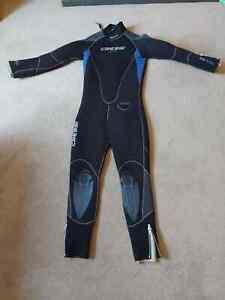 Cressi full length wetsuit 5mm