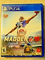 Madden NFL 16 (Sony PlayStation 4, 2015) Disc Case - No Book - Free Shipping