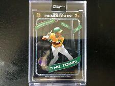 Topps PROJECT 2020 RICKEY HENDERSON BEN BALLER #71 In Hand Baseball Card 15741