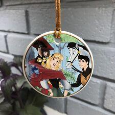 Disney's Sleeping Beauty, Prince, Owl/Bird/Squirrel Porcelain Christmas Ornament