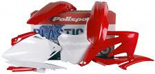 POLISPORT KIT CRF450R 2008 RED/WHITE Fits: Honda CRF450R