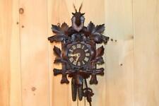 Antique German Black Forest Cuckoo Clock ~ Circa 1910's ~