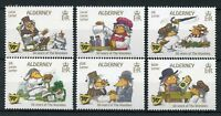 Alderney 2018 MNH The Wombles 50 Years 6v Set Literature Cartoons Stamps
