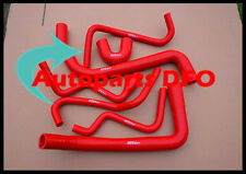 For HOLDEN Commodore red silicone hose VY V6 02-04 & Statesman WK V6 03-04 3.8L