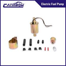 Universal Low Pressure Electric Fuel Pump & Installation Kit E8016S 2.5-4.5 PSI
