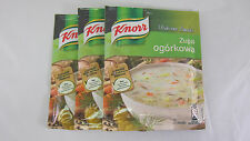 Knorr Pickle Soup -Made in Poland-  Pack of 3 /9 servings