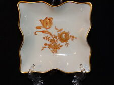 """Antique Limoges Candy or Trinket Dish 5"""" x  5"""" Square"""