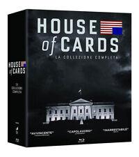 House of Cards - Serie Completa - Stagioni 1-6 (23 Blu-Ray) *Nuovo Sigillato*