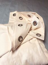 Laura Ashley 'Galia' Peach Single MTM Eyelet Curtain W254cm x L235cm HUGE