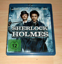 Blu Ray - Sherlock Holmes - Guy Ritche - Robert Downey Jr. - Jude Law
