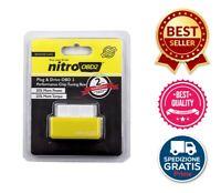 Nitro OBD2 benzina/GPL chip Tuning Remap box. 35% più CV – 25% più coppia