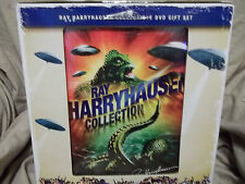 NEW HARRYHAUSEN DVD GIFT SET (6 DVDS) WITH YMIR FIGURE+MOVIES ARE IN COLOR