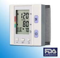 RMS Wrist Blood Pressure Monitor Fully Automatic Wrist Style w Jumbo LED Display