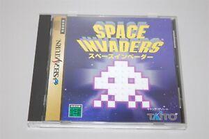 Space Invaders Japan Sega Saturn Taito game
