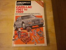 Cadillac 1967-89 Repair and Tune-up Guide by Chilton Automotive Editorial Staff