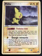 Carte Pokemon PICHU 20/100 Rare Tempête de Sable Bloc ex FR NEUF