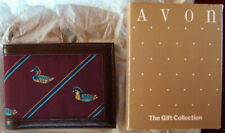 """VERY RARE! Vintage Avon Gift Collection """"MAN'S WILDLIFE CLASSICS WALLET"""" - NEW!"""