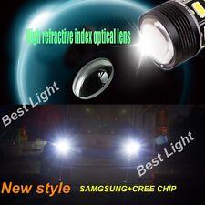 2x For BMW 3 SERIES E30 E36 E46  Reverse Tail 1156/BA15S CREE White LED Car Bulb