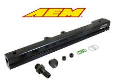 AEM 25-109BK High Volume Fuel Rail 1996-2000 Honda Civic D16Y7 D16Y8