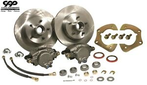 """1955-57 Chevy Belair CPP 2"""" Drop Spindle Disc Brake Component Kit"""