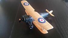 "Sopwith Pup Fighter Bi-plane 1917 WW1 British Wood Model Airplane 10"" inch"