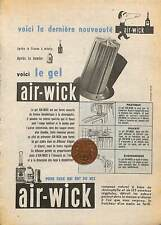 Frost air-wick/1955 publicite