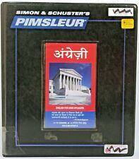 Pimsleur ESL Hindi: Comprehensive: Learn to Speak and Understand English for Hin