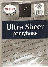 0 ultra sheer panty hose pantyhose stocking girl OFF Black 100 - 160 LBS one siz