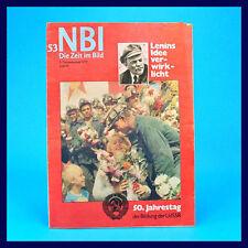 DDR NBI 53/1972 | 40. Geburtstag | Zoo Halle Scharfenstein Peter Frenkel BRD