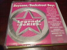 LEGENDS KARAOKE CD+G VOL 007 BOYZONE BACKSTREET BOYS NEW