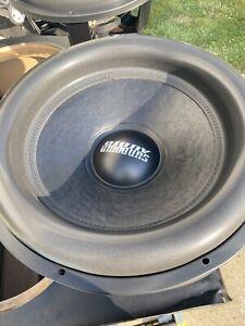 Sundown Audio X-18 D4 Dual 4 Ohm Sunwoofer 1250 Watts