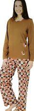 Markenlose Damen-Pyjama-Sets aus Baumwolle