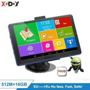 Xgody 7''  886 Plus Android Car Gps Navigation 768M+16GB Truck Gps Navigator