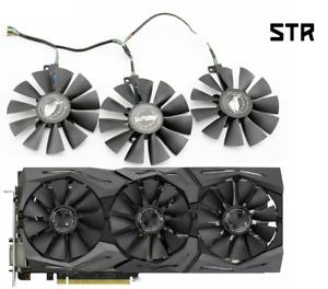 Fan For ASUS GTX 980Ti R9 390X 390 480 VEGA56 FDC10U12S9-C FDC10H12S9-C 87mm GPU