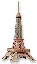 """3-D Wooden Puzzle - Small Eiffel Tower Gift Item """"Brand New"""""""