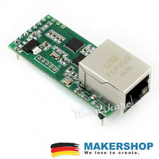 Waveshare ETHERNET 3,3-12VDC UART to ETH Adapter Konverter Modul 12161