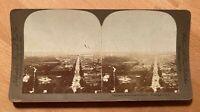 Panorama from Capitol Dome – Washington, D.C. U.S.A. – 1900? Stereoview Slide