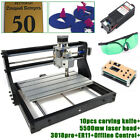 3018 PRO Engraving Router KIT 3 Axis Laser CNC Wood DIY Mill+5500mw Offline&GRBL
