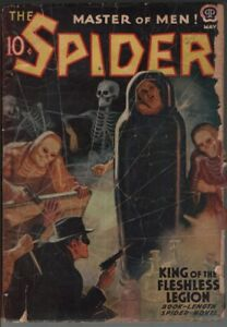 Spider 1939 May.    Pulp