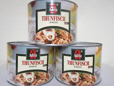 (5,43 €/kg) Thunfisch-Stücke in eig.Saft & Aufguss, 3 Großdosen, Adria