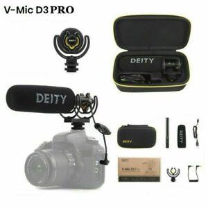 Deity V-Mic D3 Pro Broadcast Super-Cardioid On-Camera Shotgun DSLR Microphone