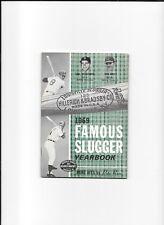 Original   1969   Louisville Slugger Famous Slugger Yearbook YAZ ROSE COVER