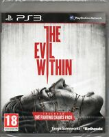 THE EVIL WITHIN GAME PS3 ~ NEW / SEALED