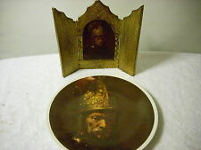 Rembrandt Man with the Golden Helmet Plate with picture