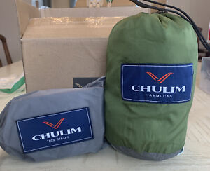 CHULIM Camping Hammock with Tree straps